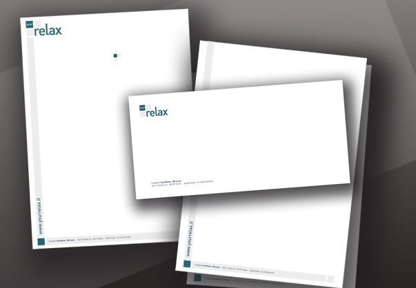 work relax webzine e immagine coordinata